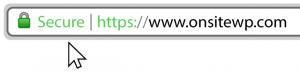 Secure https Green Lock Icon