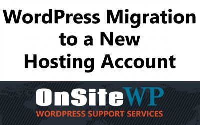 WordPress Website Migration [Video]